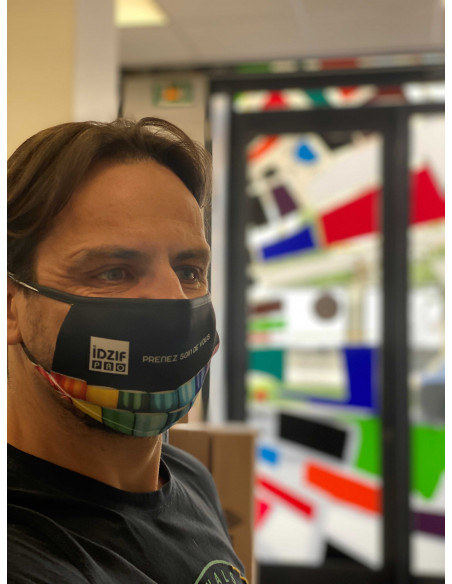 masque personnalisé pour nos propres équipes