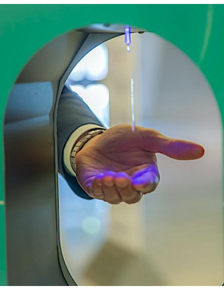capteur infrarouge pour distribution de gel hydroalcoolique sans contact